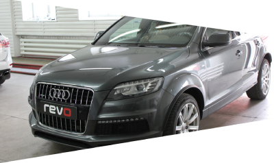 AUDI Q7 3.0TDI REVO Stage 1 : 295hp 620nm